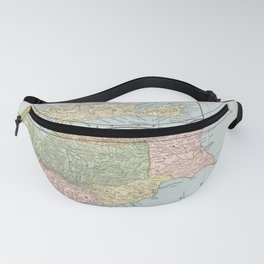 Vintage Cyprus and Crete Map (1901) Fanny Pack