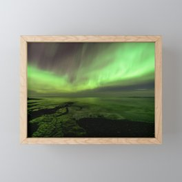 Varangerfjorden Framed Mini Art Print