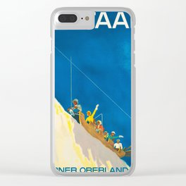 Ski Gstaad Clear iPhone Case