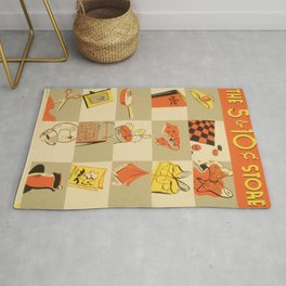 Vintage poster - Five and Dime Rug