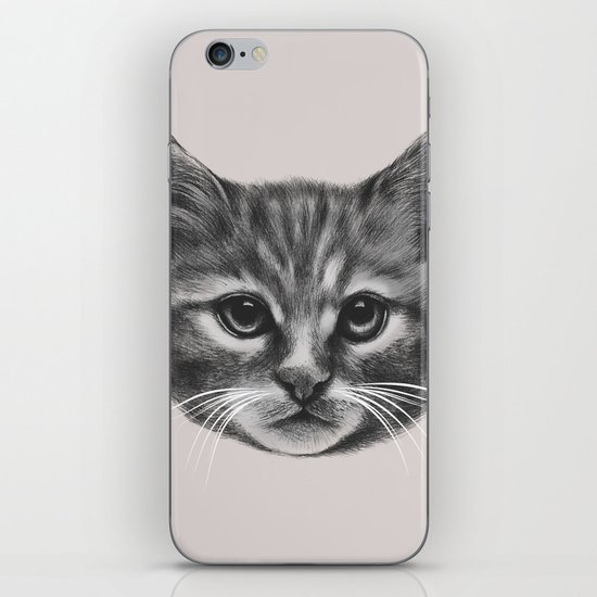 Everybody wants to be a Cat (MONOTONE) iPhone Skin