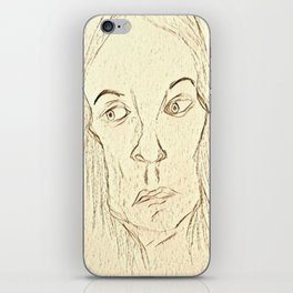 Expressive Face iPhone Skin