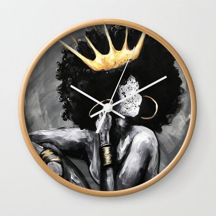 Naturally Queen VI Wall Clock