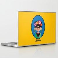 frida Laptop & iPad Skins featuring Frida by Juliana Motzko