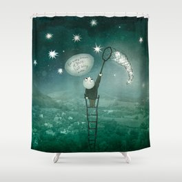 I will bring a star Shower Curtain