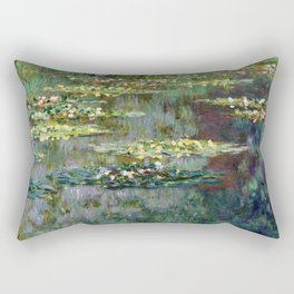 Claude Monet Le Bassin des Nympheas Rectangular Pillow