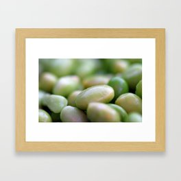 Edamames Framed Art Print