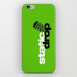 Static drop v7 HQvector iPhone Skin