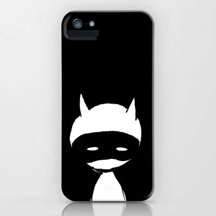 minima - devil mask iPhone Case
