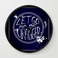 let it go Wall Clocks featuring Let Go by Emily Brand