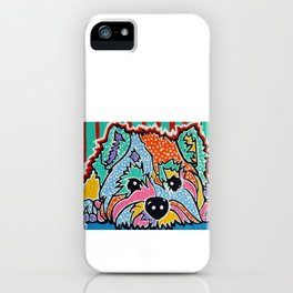 Cotton Candy Designer Dog Gift Puppy Pet Westie Westy West Highland Terrier Scottish Cairn Norfolk iPhone Case