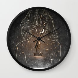 I see the universe in you. Wall Clock