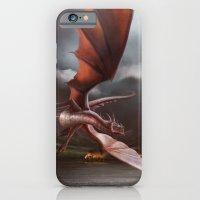 Smaug Burns Lake-Town iPhone 6s Slim Case