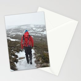 Setting off for a Scottish Expedition Stationery Cards