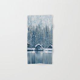 Winter's Cottage (Color) Hand & Bath Towel