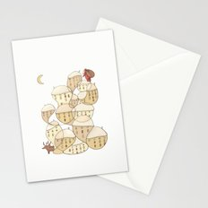 Christmas Comes To Town Stationery Cards