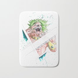 Face Off - Broly Bath Mat