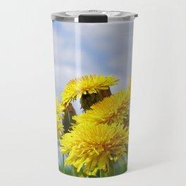 Dandelion meadow Travel Mug
