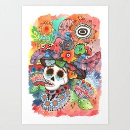 Social Pace Art Print