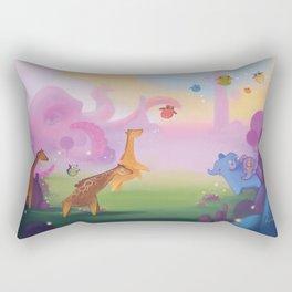 Octo-land Rectangular Pillow