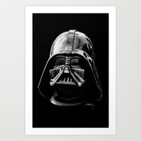 darth vader Art Prints featuring Darth by Creadoorm