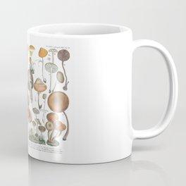 Vintage Mushrooms Coffee Mug