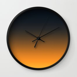 Light and Dark Ombre Wall Clock