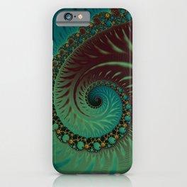 After Eight Dream - Fractal Art  iPhone Case