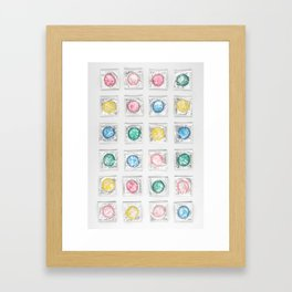Composition in Safety I Framed Art Print
