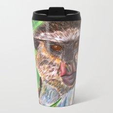 Mona Monkey Metal Travel Mug