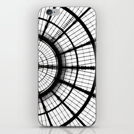 Lines and circles iPhone Skin