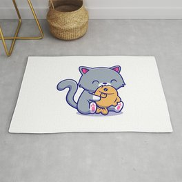 Cute Kitty - Lunch Time Rug