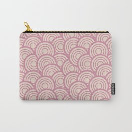 Pink Retro Carry-All Pouch