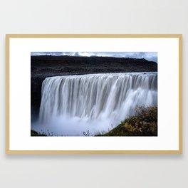 Dettifoss in Iceland Framed Art Print