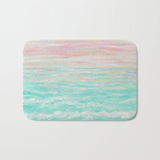 """""""Tropical Sunset"""" Bath Mat"""