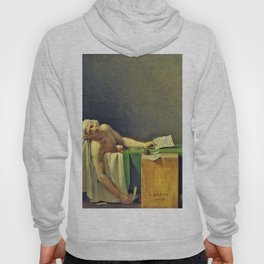 Jacques-Louis David - The Death of Marat - Digital Remastered Edition Hoody