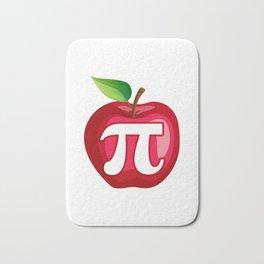 Apple Pi Cute Math design Bath Mat