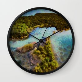 Christian Island, Georgian Bay, Ontario Wall Clock
