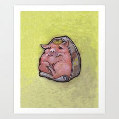 Canned Ham Art Print