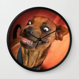 "I have a ""God-Given Right"" to bear teeth. 3 Wall Clock"