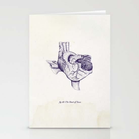 The Heart of Texas (TCU) Stationery Cards