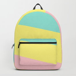 Pastel Stripes Backpack