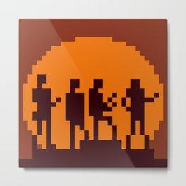 Get Lucky Pixel Cover Metal Print