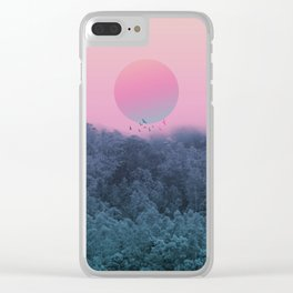 Landscape & gradients IV Clear iPhone Case