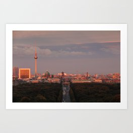 The place to be... Art Print
