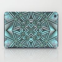 snowflake iPad Cases featuring Snowflake by Lyle Hatch