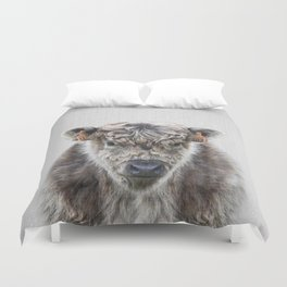 Fluffy Cow - Colorful Duvet Cover