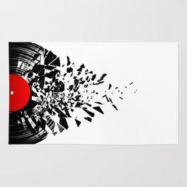 Vinyl shatter Rug