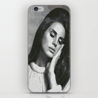 cocaine iPhone & iPod Skins featuring cocaine heart by Grace Teaney Art