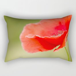 Miss you so much Red Poppy #decor #society6 Rectangular Pillow